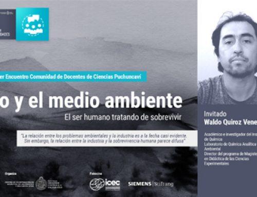 CIDSTEM invita a profesor Waldo Quiroz a dialogar con docentes de ciencias de Puchuncaví